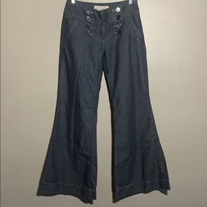 American Rag wide leg flair jeans